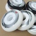 8 Pcs Hyper+G GRIP Concrete Inline Roller Skates Wheel, 84A FSK Slalom Braking Skating for SEBA HL High WFSC Powerslide RB Wheel
