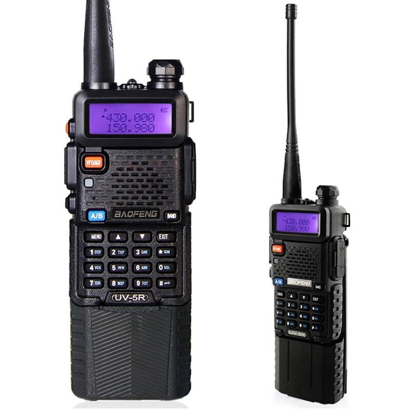 BAOFENG UV-5R 136-174/400-520 Mhz Double Bande avec 3800 MAh li-ion batterie Baofeng uv5r