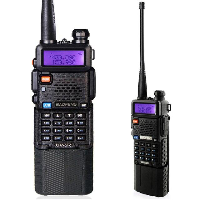 BAOFENG UV-5R 136-174/400-520 Mhz Dual Band com 3800 MAh li-ion bateria Baofeng uv5r