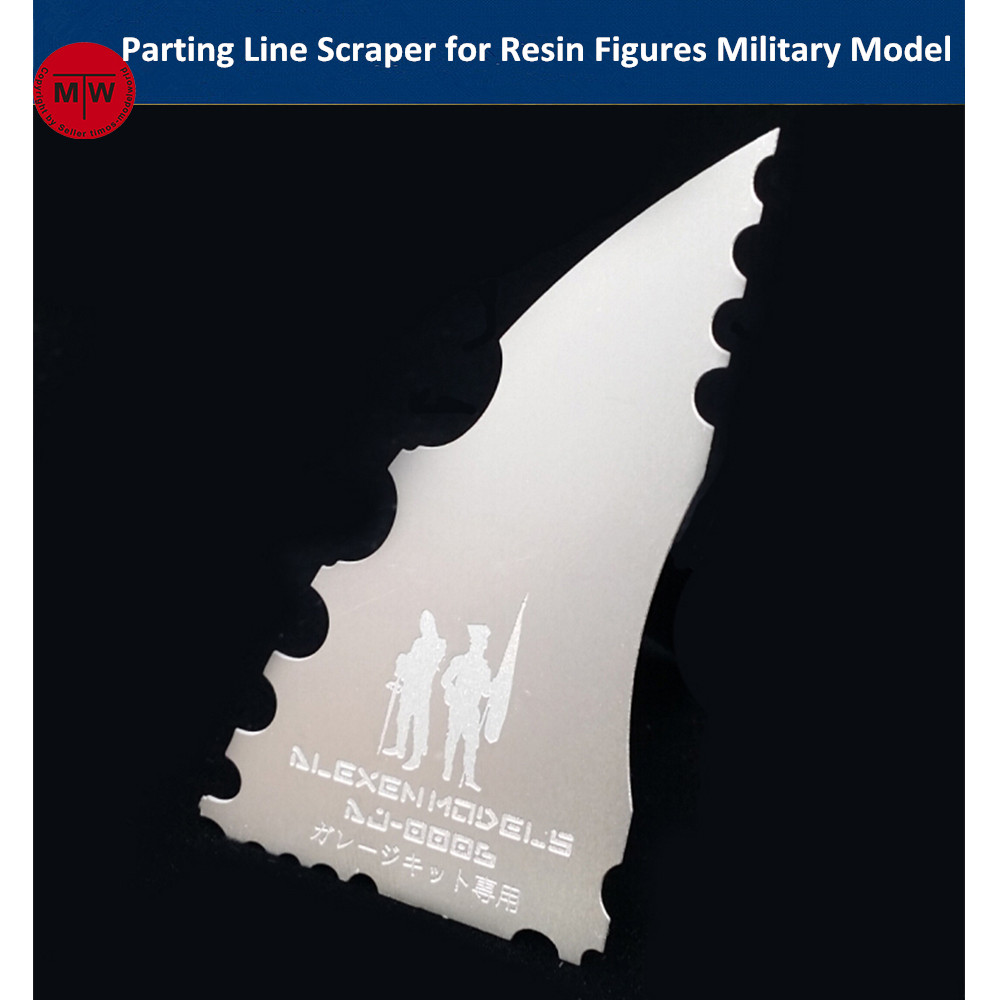Alexen Model Parting Line Scraper Hand Saw Tools For Resin Soldier Figures Military Assembly Model Hobby Kits AJ0006