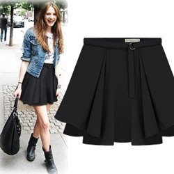 Black high waisted skirt outfit – Modern skirts blog for you