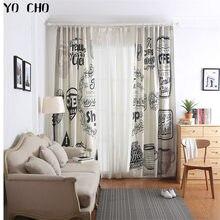 205c030556ce0 YO CHO hot estilo retro Europeia janela cortinas para sala de estar do  hotel de luxo