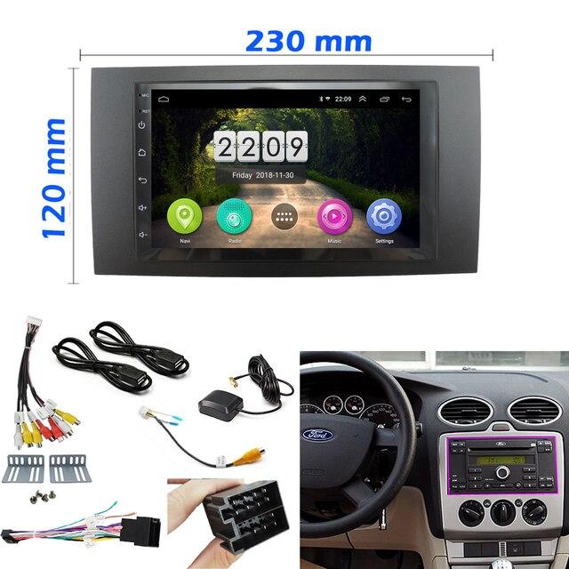 Android 8 1 Car Multimedia Radio Player Para Ford Focus 2 Quadro Din Para Radio De Carro Para C Max S Max Fusao Transito Fiesta Uso