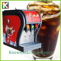 3 Heads Coke Beverage Dispenser|Refrigerated Beverage Dispenser