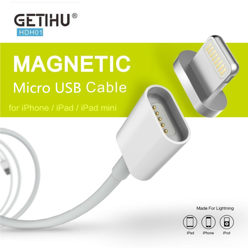 2.4A Magnetic Charge Micro Usb Data Cable Charging Cable Android Charger Cord for iPhone 7 6 s 5 5s 6s Plus Samsung Mobile Phone