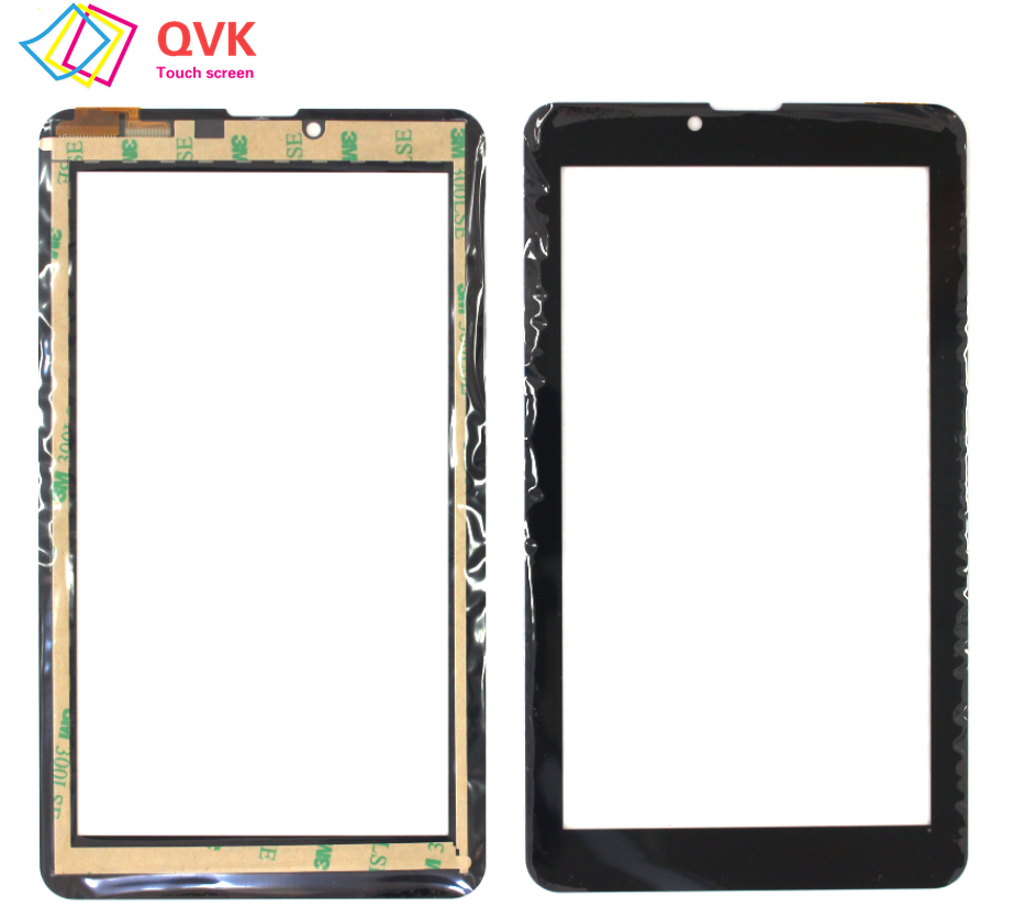 Black 7 inch for <font><b>DEXP</b></font> <font><b>Ursus</b></font> <font><b>S270</b></font> Capacitive touch screen panel repair replacement spare parts P/N DP070394-F2 image