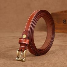 Hot Sale good quality women belt cow genuine leather female waist strap top pin buckle fashion waistband original brand