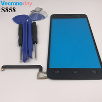 5 0 Inch Black For Lenovo S858 S858T Touch Screen Digitizer Sensor Replacement Original Touch Panel