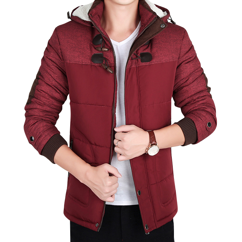 ФОТО 2017 Jacket Fall Winter Men's Winter Coat Fashion Thicker Casual down parka warm&comfortable Europe Style Plus size more Color
