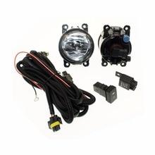 Для RENAULT LOGAN салон LS H11 Жгуты проводки розетки Провода разъем переключатель + 2 Противотуманные фары DRL переднего бампера Галогенные автомобилей лампа