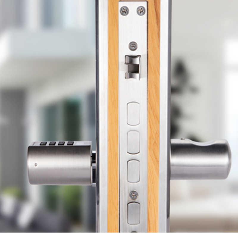 L6PCB Умный интеллектуальный Дистанционный Замок без ключа цилиндр RFID циферблат карта комбинированный электронный дверной замок Bluetooth приложение цифровая дверь