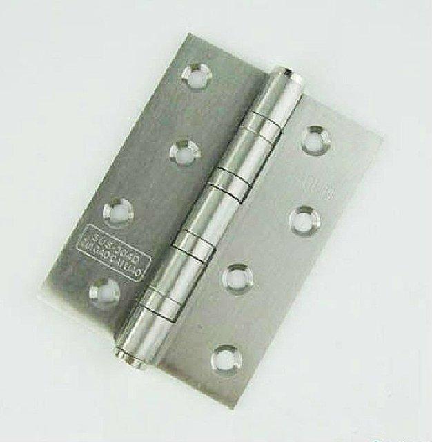 2 par puerta de acero inoxidable 304 4 '' X 4 '' X 2.5 mm bisagra de la puerta
