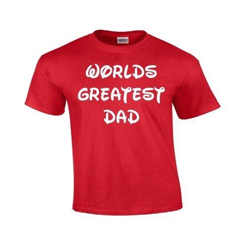 Gildan Worlds Greatest DAD Fathers Day Birthday Christmas Gift Funny T Shirt
