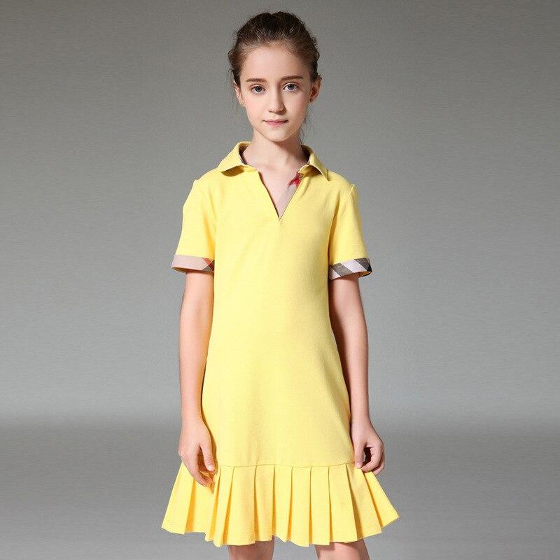 Yellow Summer Dress Girl