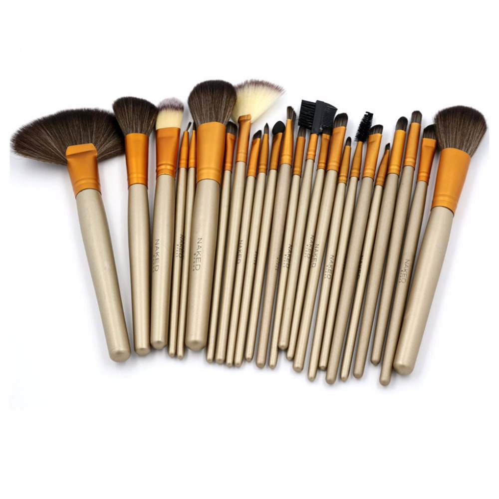 New Makeup Brushes 24PCS High Quality Makeup Brush Set Eyebrow Shadow Foundation Brush Kit Full Professional Makeup Kits