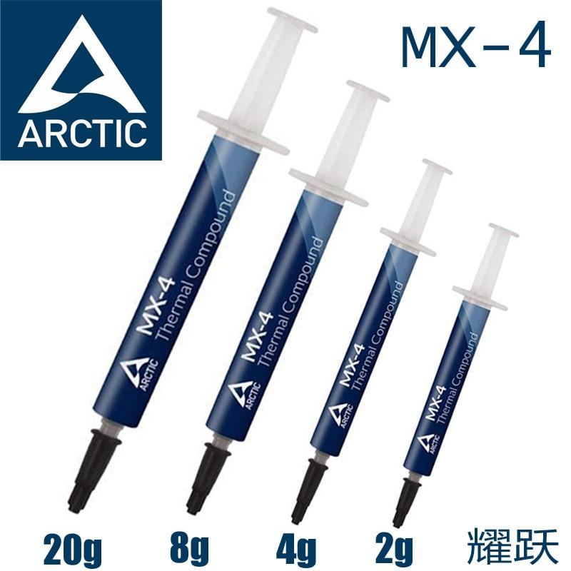 ARCTIC MX-4 2g 4g 8g 20g Graxa Térmica do processador AMD Intel CPU Cooler Fan VGA composto Dissipador de Calor pasta de Gesso