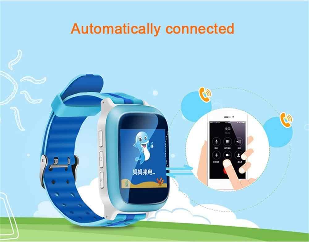 DS18 Smart Watch Kids Baby Children Monitor Safe Phone Waterproof GPS SOS Call Locator Tracker Anti lost 2G GSM SIM Card