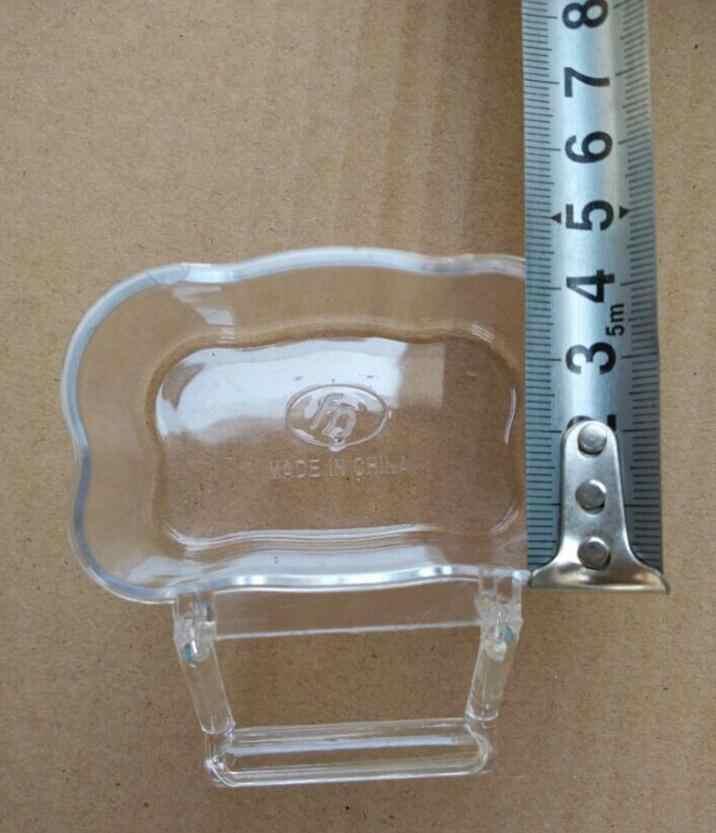 Pojemniki na żywność rozproszone anti-klatka zaślepkę kubek splash splash świeże zbiornika wody przezroczyste anti scatter żywności containers730
