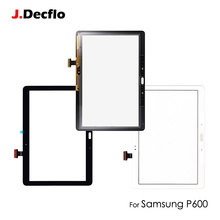 цена на 1PC Original Front Digitizer Lens Glass Panel For Samsung Galaxy Note 2014 Edition P600 P601 P605 SM-P601 10.1 inch Touch Screen