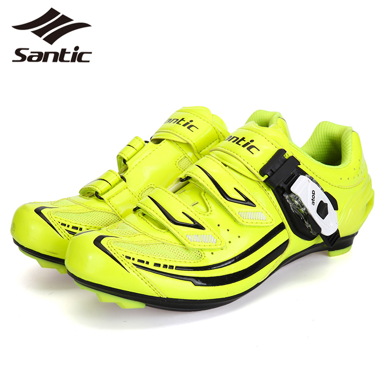 Santic Road Bike Shoes Women Micro Fiber Sapatilha Ciclismo PRO Bicycle Cycling Shoes Athletic Self-Locking Shoes Chaussure Velo santic men cycling shoes tpu athletic self locking sports triathlon road bicycle bike shoe sapatillas ciclismo chaussure velo