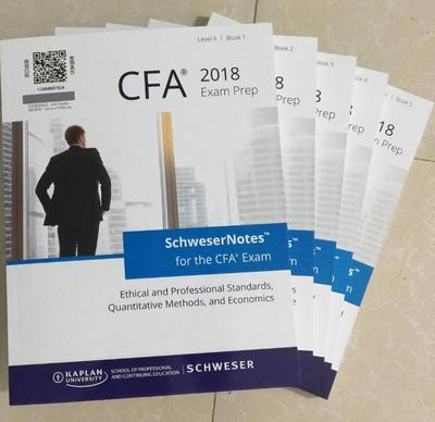 CFA Level 1 Exam Prep and Study Materials - Schweser