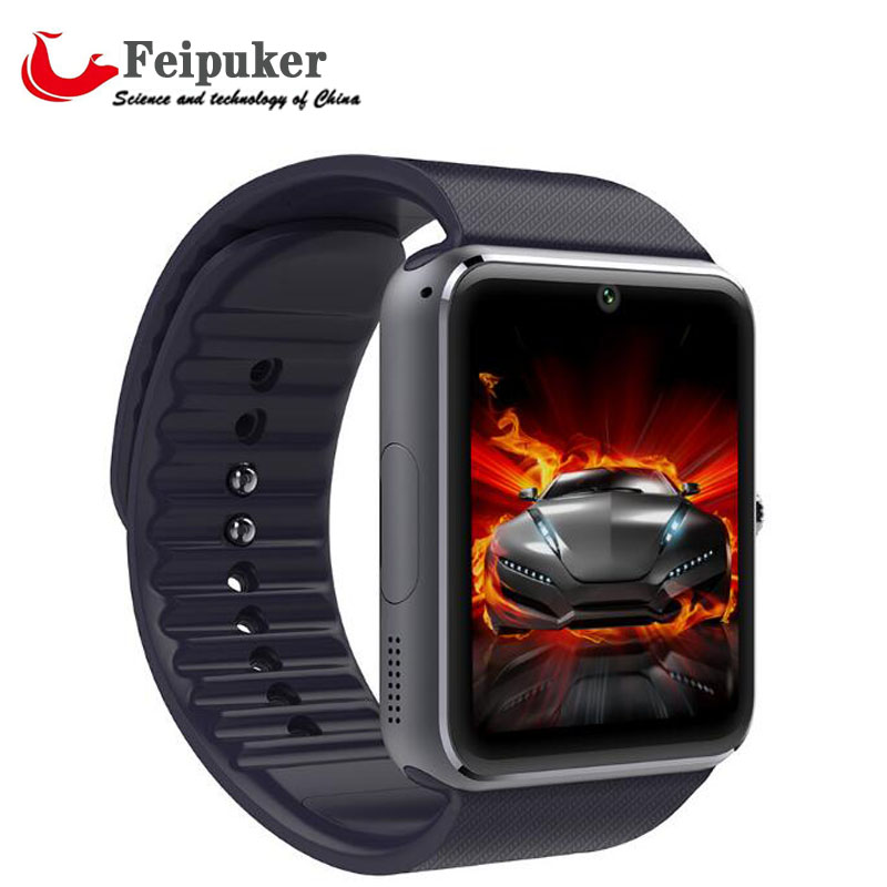 HOT Smart Watch GT08 Clock With Sim Card Slot Push Message Bluetooth Connectivity Android Phone Better