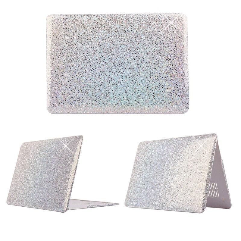 Błyszczący wzór plastikowy pokrowiec Fashion Brokat dla Macbook - Akcesoria do laptopów - Zdjęcie 2