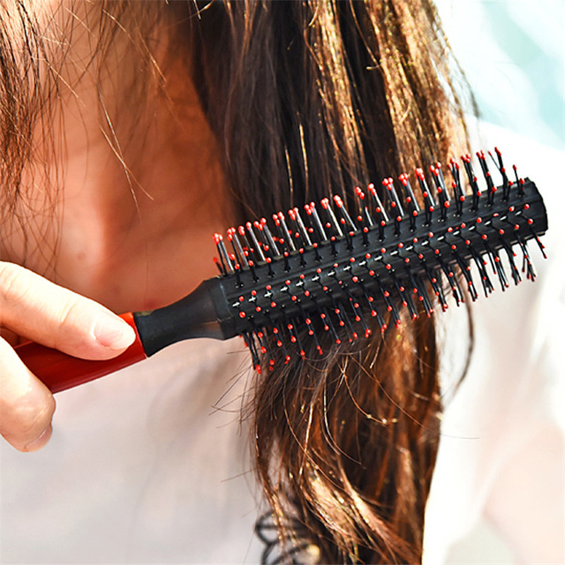 Fashion Beautiful Stylist Nylon Hair Curlers Curly Hair Combs Straight Hair Curls Comb L ...