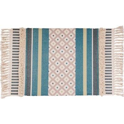 Style nordique Simple coton tapis pour salon chambre tapis spécial gland mode tapis porte tapis canapé Table chaise tapis zone tapis - 3