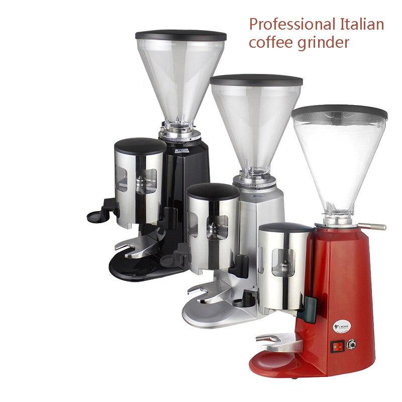 Moulin à café électrique moulin à café Machine à café Machine domestique et professionnelle 1-8 vitesse ajuster