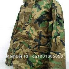 Худи USMC, водонепроницаемая парка ECWCS Gen 1, камуфляжная куртка, Лесной камуфляж, пустынный камуфляж, ACU BK CP
