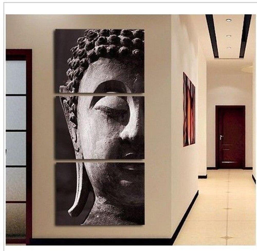 Klassische Hand bemalte leinwand ölgemälde buddha leinwand kunst ...