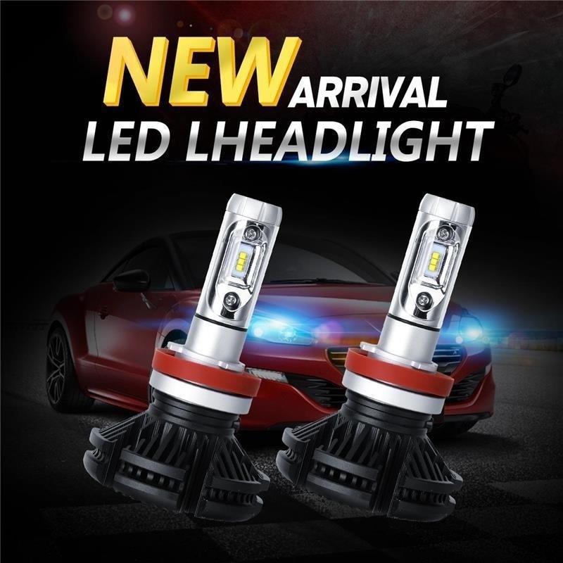 Car LED 9V-36V Headlights Extremely Bright H1 H3 H4 H7 H8 H9 H10 H11 9005 9006 Philips Led Chip Automobile Bulb Headlamp lddczenghuitec bright car headlights h7 led h8 h11 9005 9006 h1 8000lm auto front bulb automobile headlamp 6000k car lighting