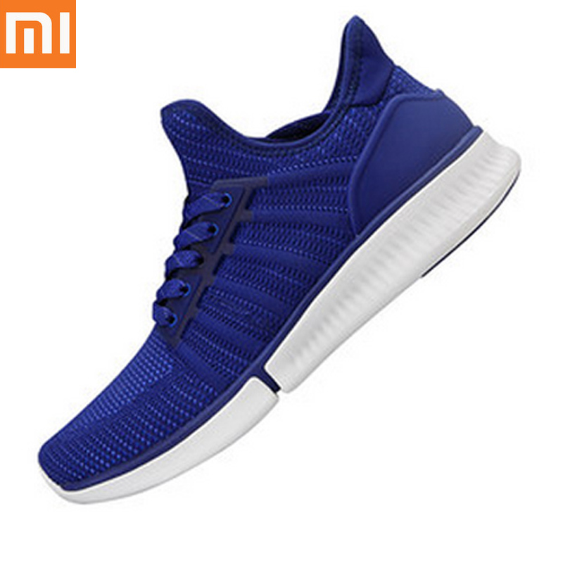 Original Xiaomi Mijia Smart Light Weight Running Shoes Professional Fashion Phone APP Remote Data support Smart chip not include