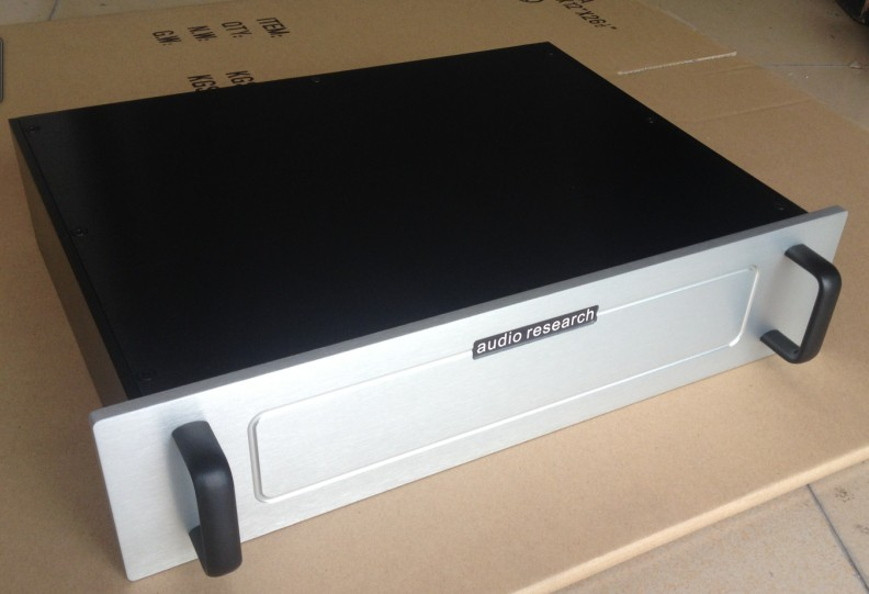 B-062 QUEENWAY CNC Full Aluminum Pre Amplifier Case Chassis AMP DIY Power Amplifier box 430mm*135mm*310 mm 430*135*310 mm queenway 4308 cnc full aluminum chassis amp case enclosure psu box diy 430mm 80mm 330mm 430 80 330mm