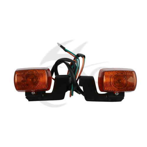 Motorcycle A Pair Rear Turn Signal Indicator For CBR250 MC19 CBR400 NC23 New