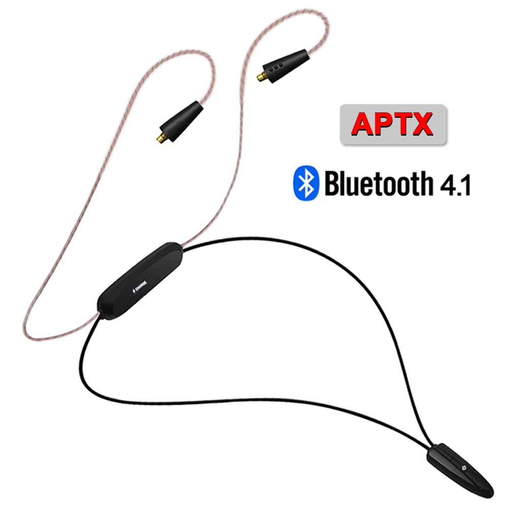 NICEHCK HB1 Wireless Bluetooth 4.1 Cable HIFI Earphone MMCX Cable Support Apt-X Aptx Lossless Use For SE846 NICEHCK HK6 HK8 EBX