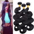 7A Malaysian Body Wave 3 Bundles Malaysian Virgin Hair Body Wave Wavy Unprocessed Human Hair Weave Sunlight Queen Hair Products