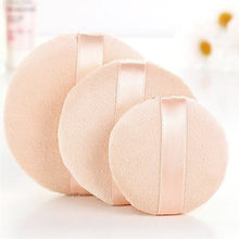 Face Body Powder Puff Cosmetic Makeup Super Soft Sponge Foam Cleansing Make Up S/M/L Size Women Face Tools Skin Color New(China)