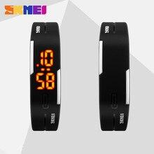 2017 силикон LED Спортивные часы Для мужчин женское платье Дети Электронные светодиодный цифровой часы человек дамы утро Бег спортивные часы