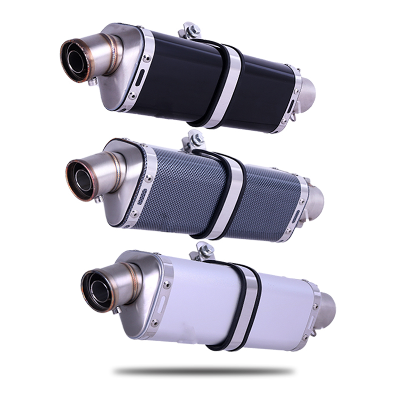 36~51mm Universal Motorcycle Modified yoshimura Carbon Fiber Face Exhaust Muffle pipe Escape DB-KILLER
