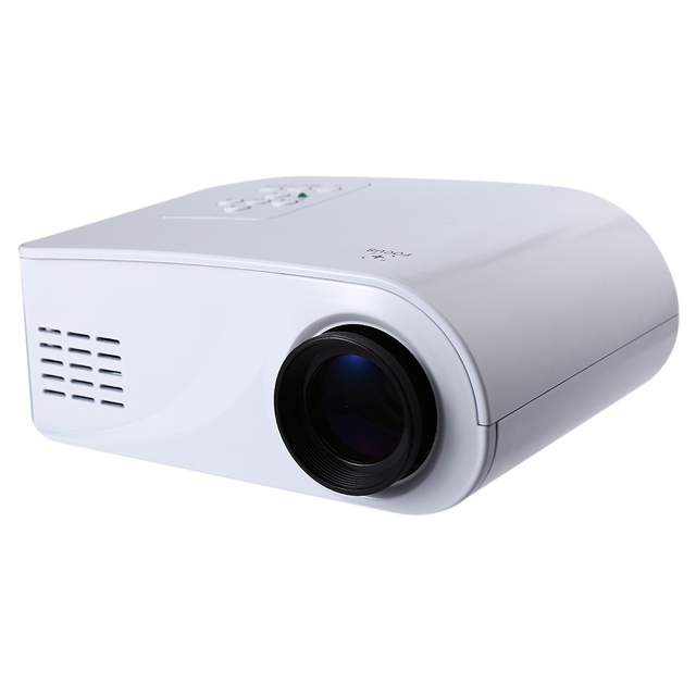 New Excelvan X6 Mini Portable Projector 120Lumens Support 1080P With HDMI / USB / AV / VGA / SD Interface 360 Degree Flip Beamer