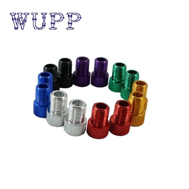 Auto random color Multi-use Schrader Pump Air Valve Converter For FA Change AV Bicicleta Pump Tire Tyre Inflator Valve Adaptor