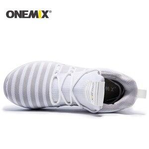 Image 3 - ONEMIX Với Chạy Bộ Nữ Ấm Áp Tăng Chiều Cao Giày Thể Thao Mùa Đông Cho Nữ Ngoài Trời Unisex Thể Thao Giày Thể Thao