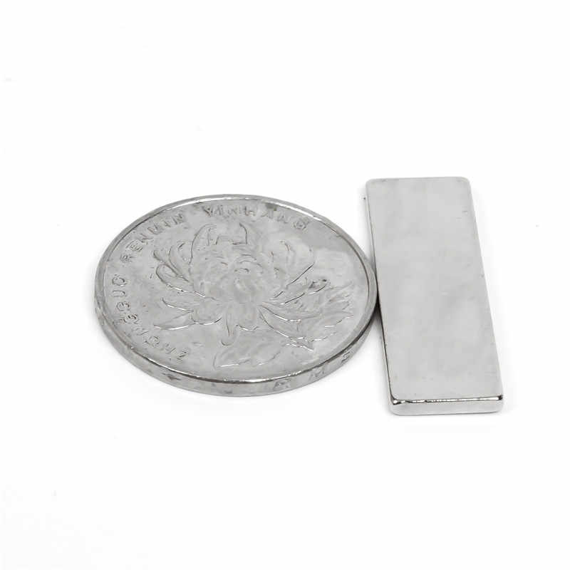 U-JOVAN venda quente 10 pçs super forte artesanato geladeira ímãs bloco cuboid neodímio ímã terra rara n35 30x10x2mm