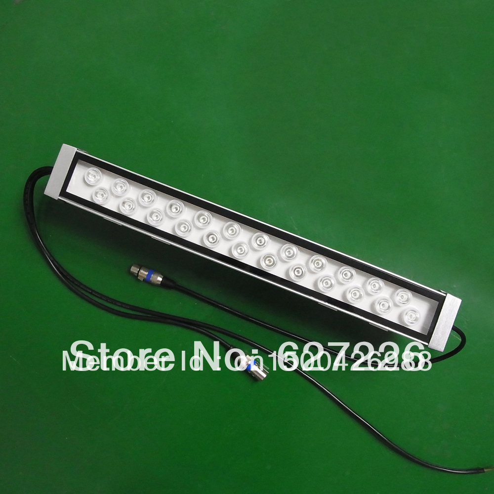 ФОТО led wall washer 24W with RGB, DMX 512 Control, Warranty 3 Years CE RoHS High Quality ,Factory Supply
