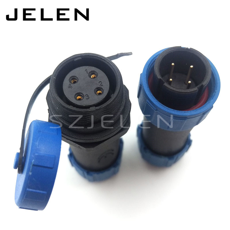 Aliexpress Com Buy Sy17 Ip68 Waterproof Connector 4 Pin