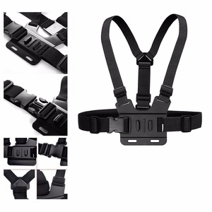 Image 1 - Adjustable Chest Body Harness Accessories Belt Strap Mount For Gopro Hero 5 Support All Action Sports Camera VeFly sport