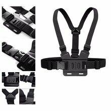 מתכוונן חזה גוף רתם אביזרי חגורת רצועת הר לgopro Hero 5 תמיכה כל פעולה ספורט מצלמה VeFly ספורט