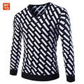 Brand Clothing Pullover Men 2016 New Fashion V Collar Winter Sweater Men's Brand Slim Fit Pullovers Casual Sweater Men 3 Colors